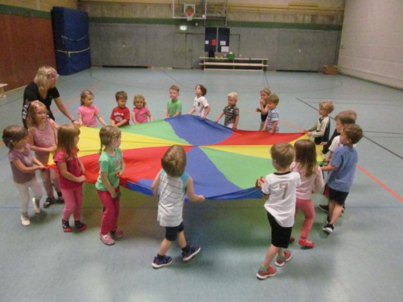 turnen mit kindern kita