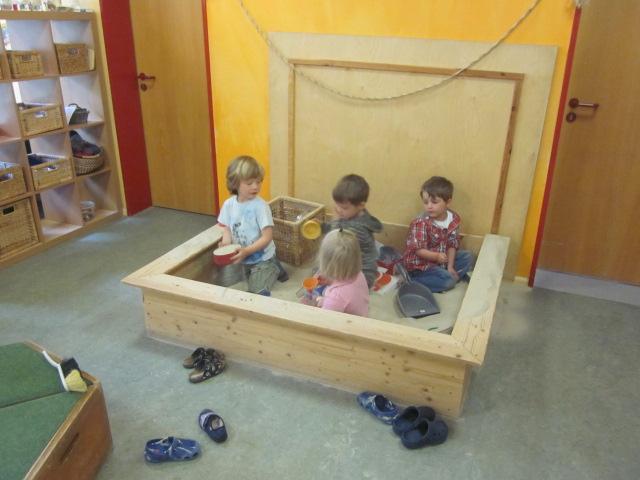 R umlichkeiten familienzentrum sankt ludgerus schermbeck for Raumgestaltung in der kita